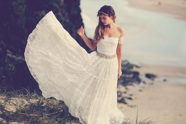 Платье в цыганском стиле.