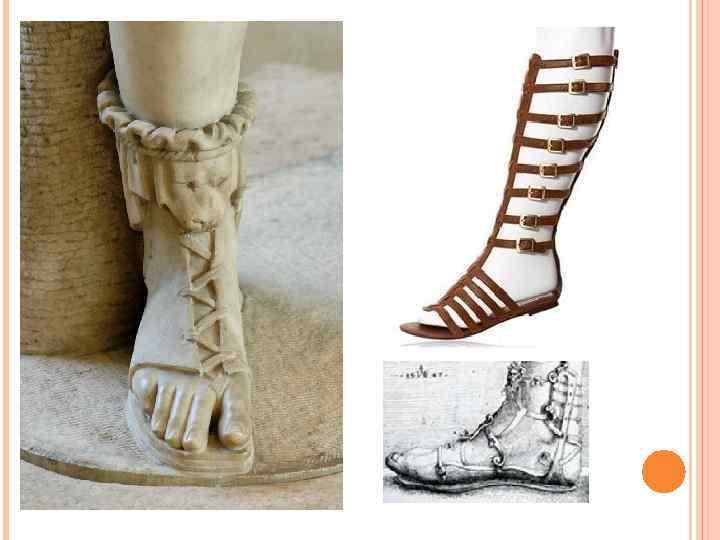 первые греческие сандалии