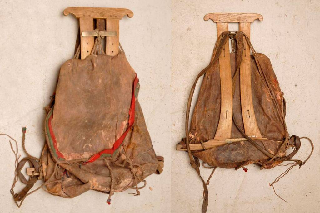 первобытный рюкзак