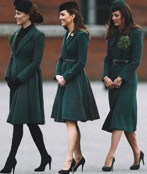 Кейт в зеленом