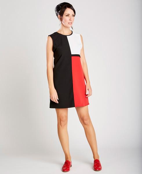 Платье в стиле 60-х.