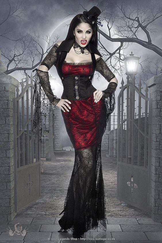 Вампирская готика.