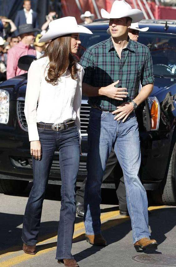 Стиль вестерн — джинсы.
