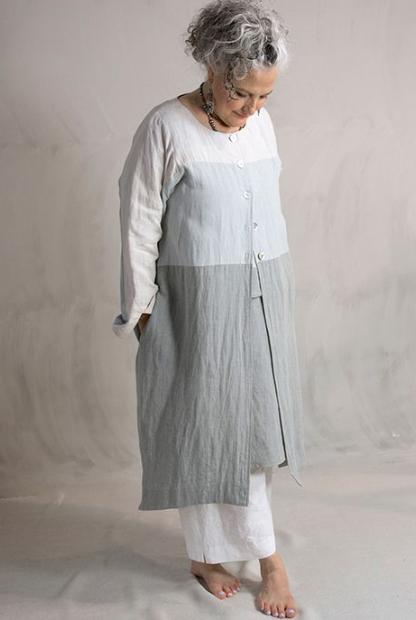 полная женщина в платье бохо