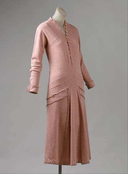 платье из джерси от Коко Шанель