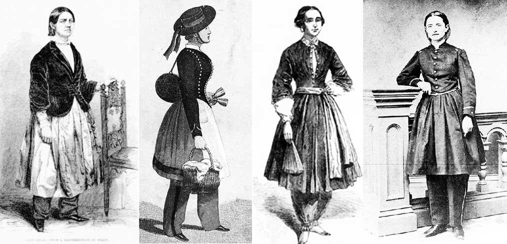 Одежда для активного отдыха 19 века.