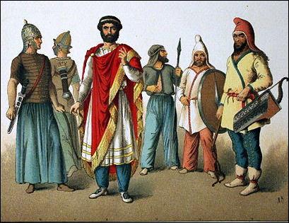 штаны древних персов