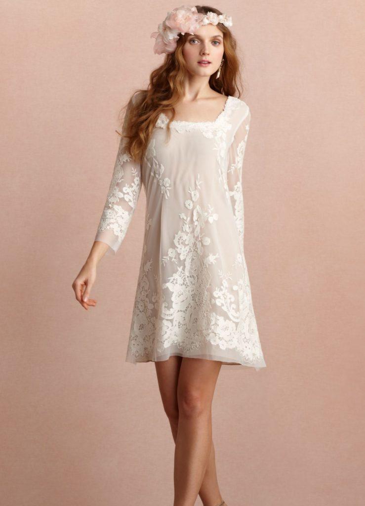 Платье хиппи.