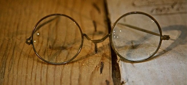 очки раньше