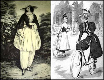 Женская одежда для езды на велосипедах.
