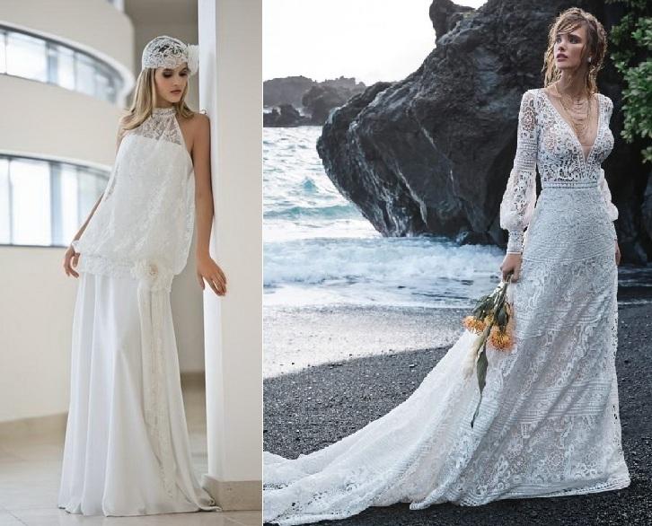 Свадебные платья свободного кроя