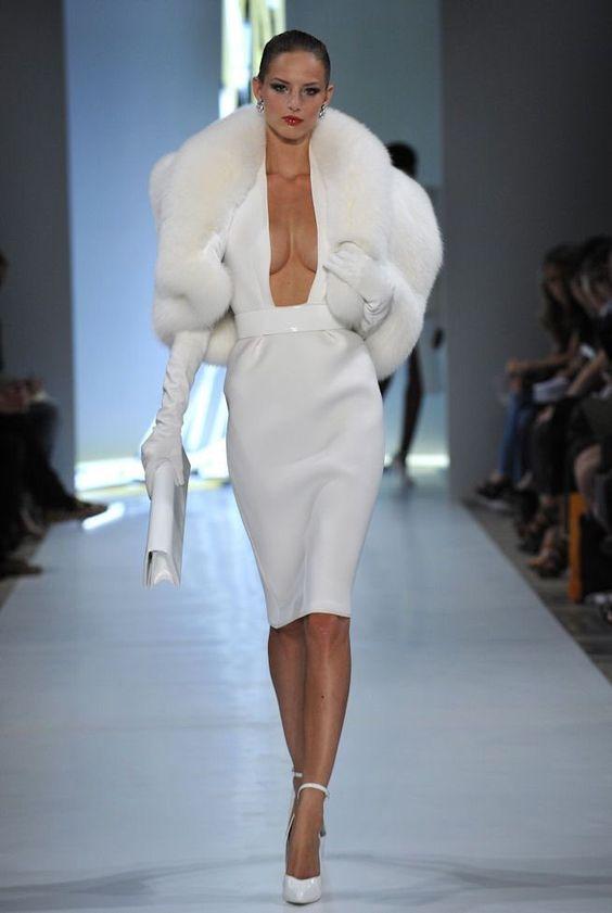 Белый наряд.