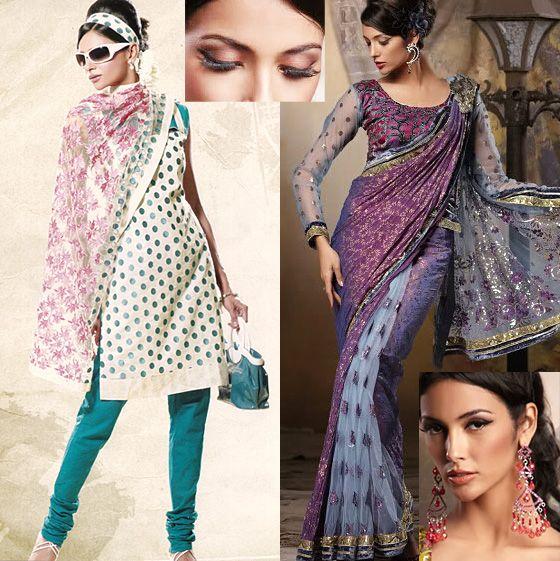 Одежда в индийском стиле.