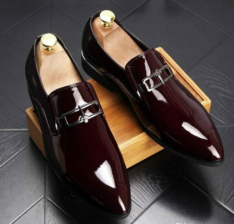 Лаковая обувь.