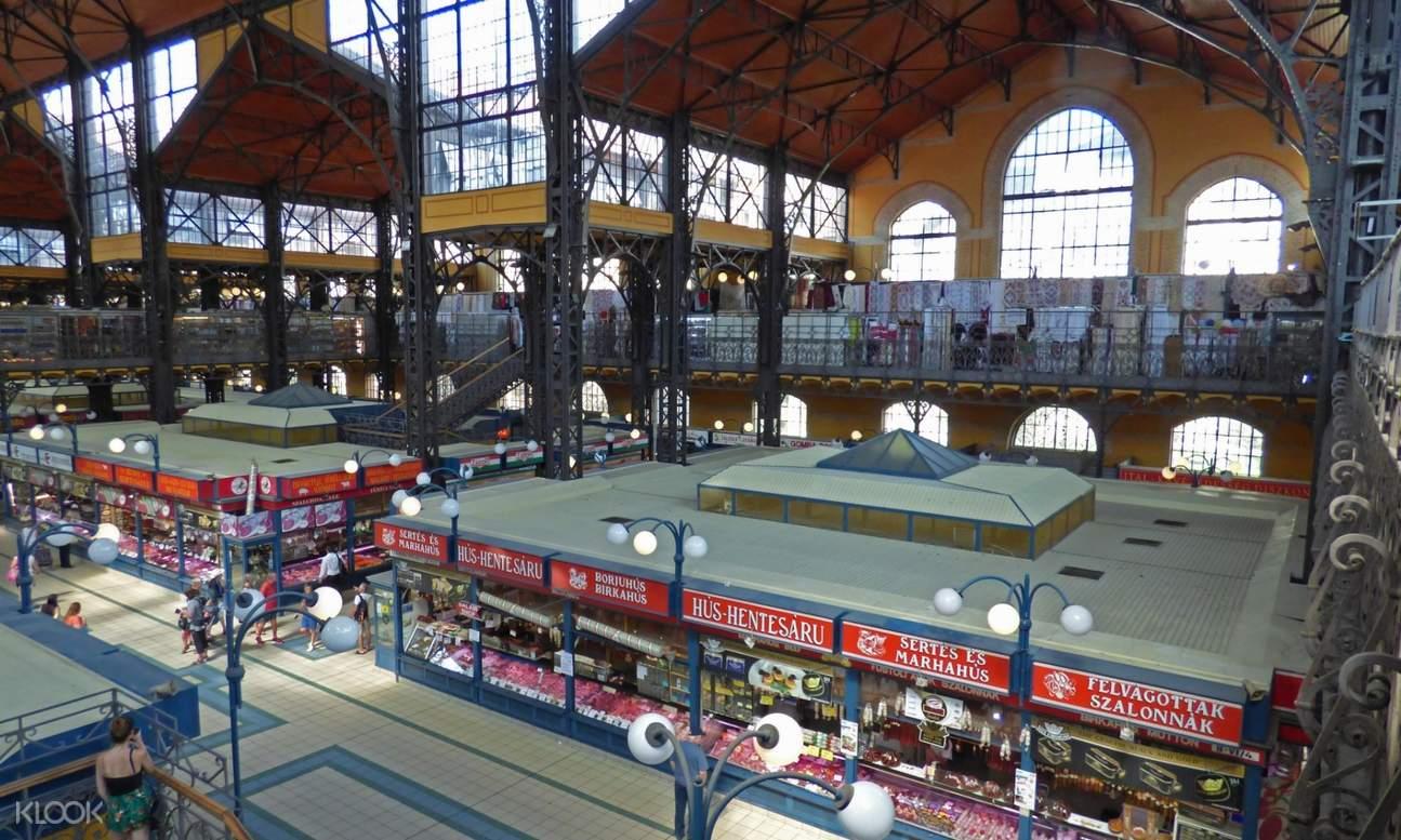 крытый рынок в Эдинбурге