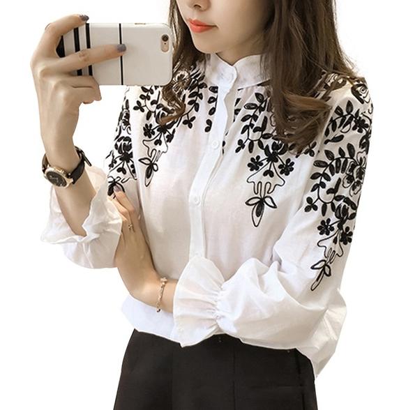 блуза фолк