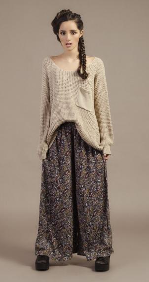 свитер с юбкой рустик