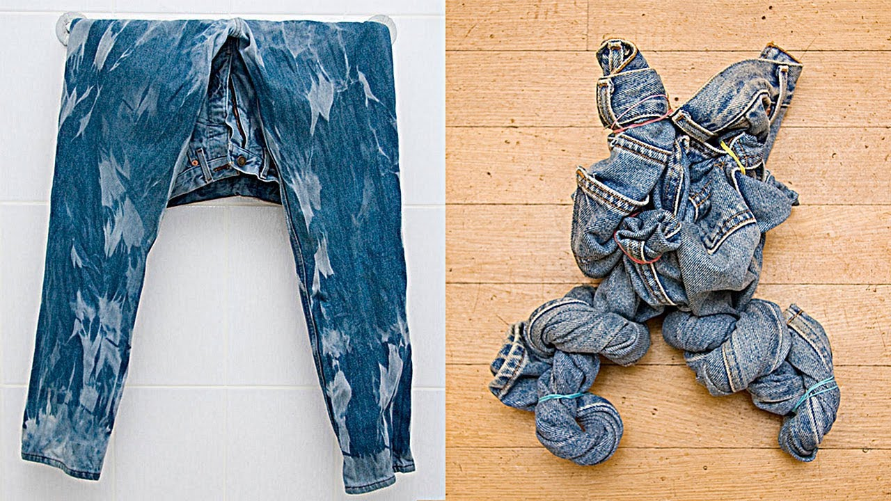 Варёные джинсы