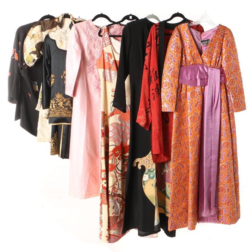 Одежда в азиатском стиле.