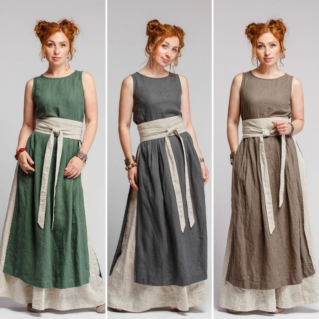 Платья в стиле бохо для кочевого образа