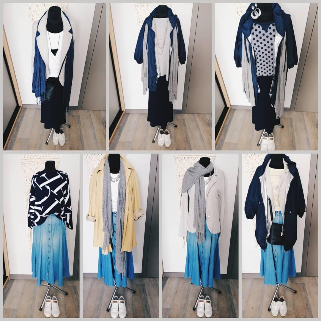 Пример капсульного гардероба