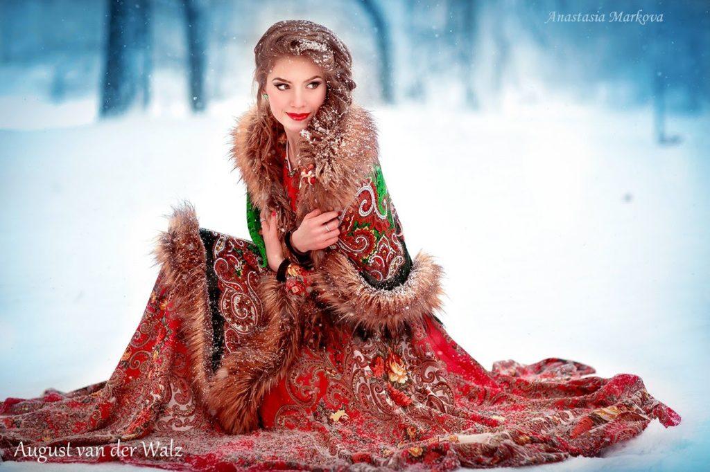 Русский стиль в одежде.