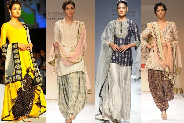 Современная индийская одежда.