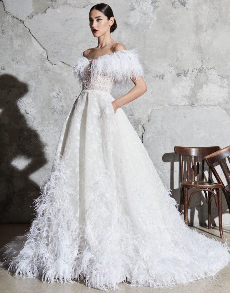 Свадебное платье викторианское