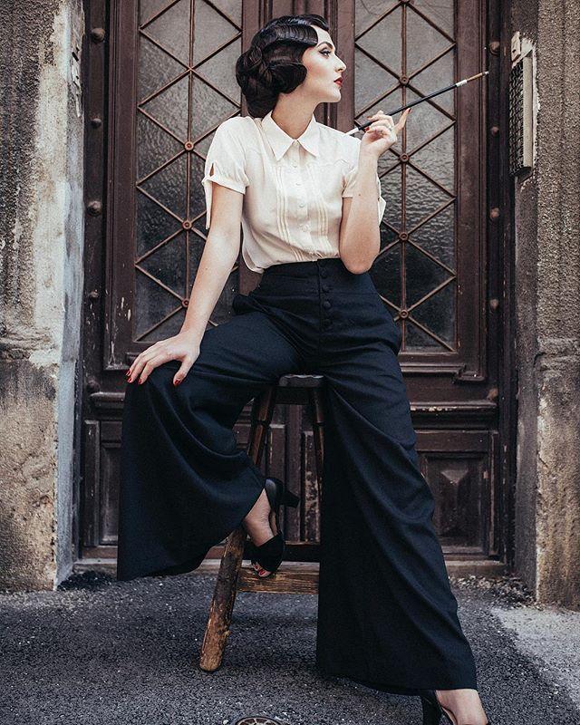 брюки и блуза