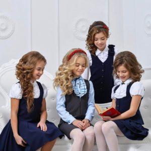 девочки-школьницы