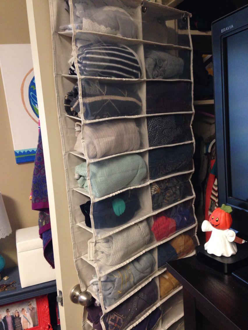 Как правильно хранить свитера
