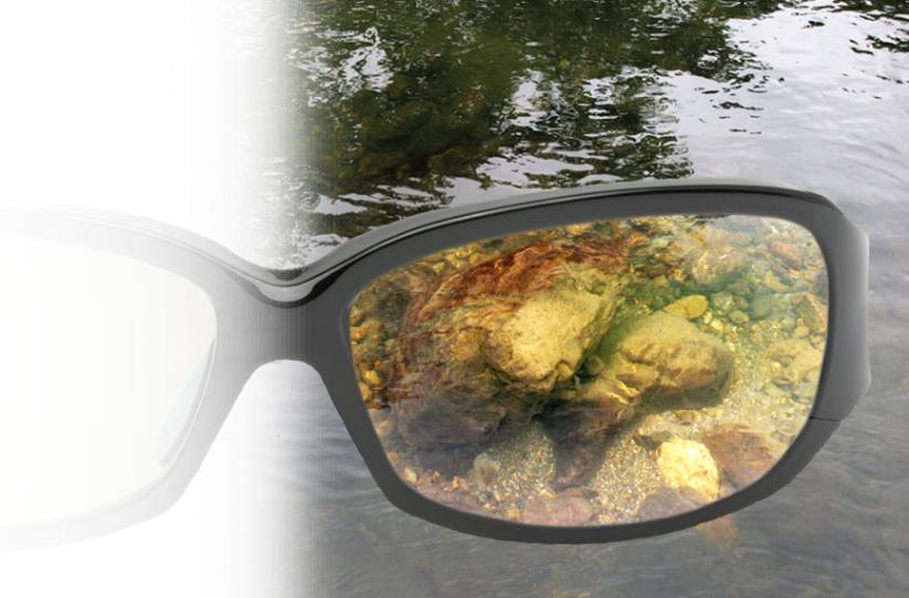 линзы очков для рыбалки