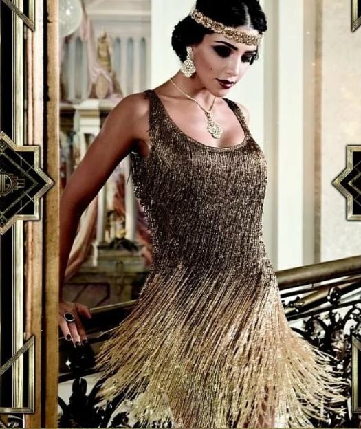 платье гетсби