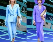 Яркие шёлковый костюмы
