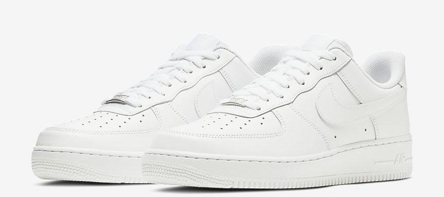 Air Force белые.