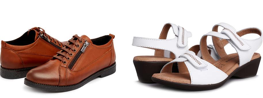 Туфли мужские и женские.