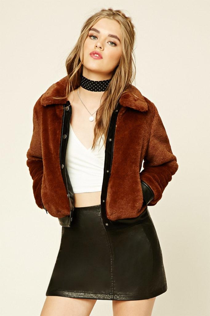 Меховая куртка.