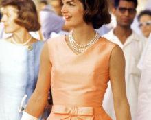 Жаклин Кеннеди в платье