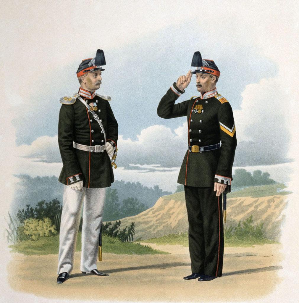 Шеврон на военной форме.