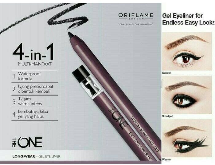 Oriflame The ONE Gel Eye Liner Pencil.