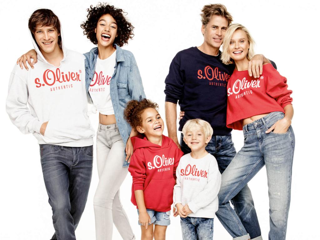Одежда для всей семьи.