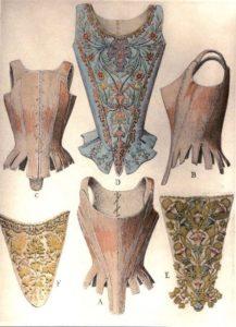 Корсеты 17 века