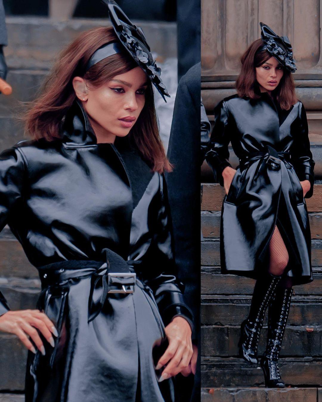костюм женщины-кошки в новом Бэтмене