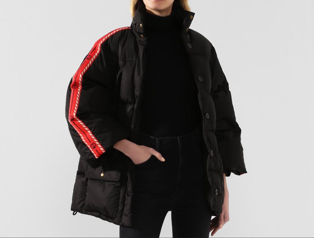 пуховая куртка Gucci