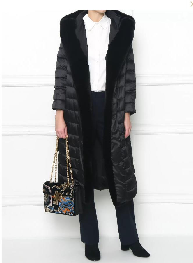 пуховое пальто от Max Mara
