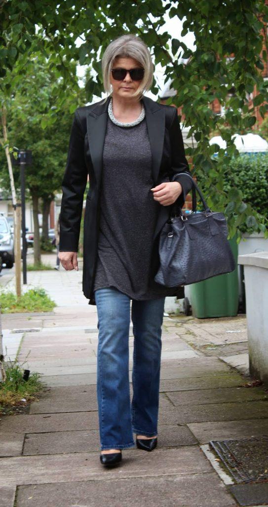 джинсы для женщин после 50