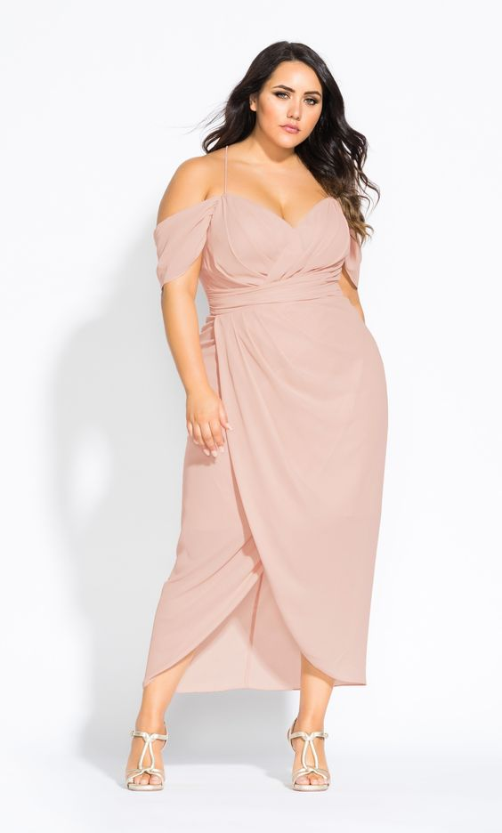 Платье с запахом.