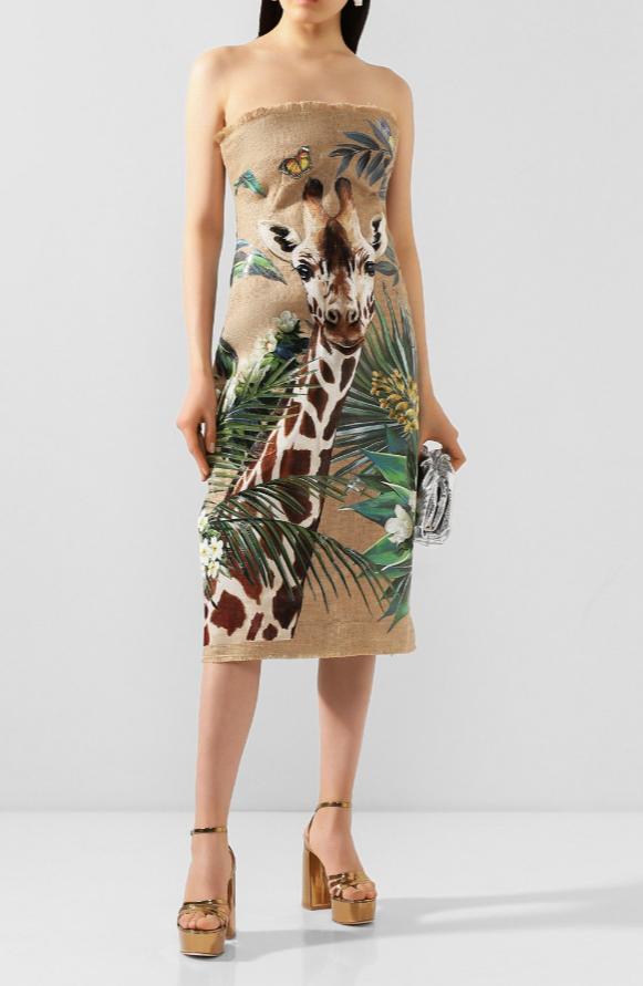 Платье от Dolce&Gabbana за 599 500 рублей