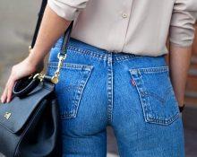 Задние карманы джинсов для красивой попы