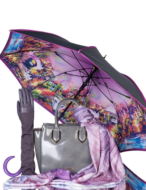 модные перчатки и зонты
